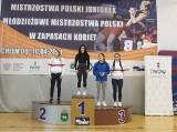 Kolejny sukces zapaśników KS Wschód. Monika Borowska mistrzynią Polski juniorek