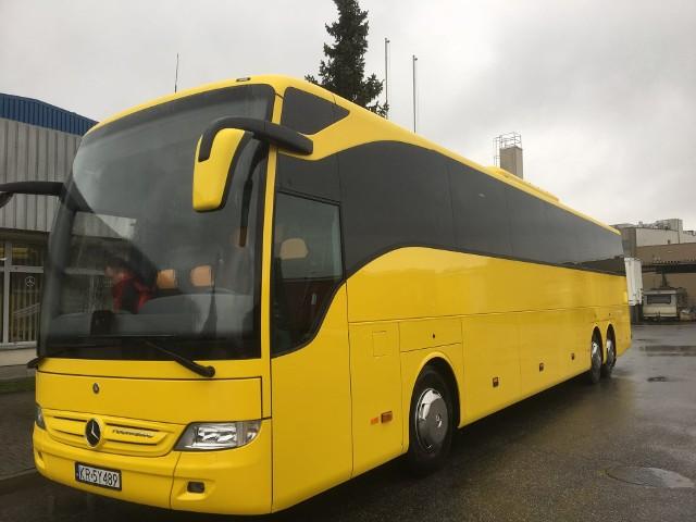 Ten największy (mający 64 miejsc siedzących) autobus spółki Małopolska Prywatna Komunikacja Samochodowa ma kursować w godzinach szczytu