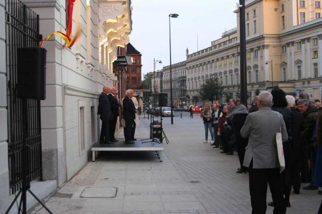 Tablica Maksa Borna we Wrocławiu - uroczystość odsłonięcia