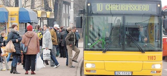 Zgodnie z obietnicą MZK rozkład jazdy autobusów z tego przystanku zmieni się 1 kwietnia.