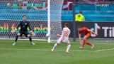 Euro 2020. Skrót meczu 1/8 finału Walia - Dania 0:4 [WIDEO]