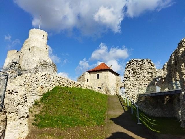 Zamek w Rabsztynie po przebudowie