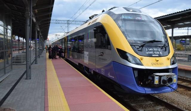 Małopolska ma już 40 nowoczesnych pociągów, kupi kolejne 4