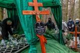 """Pogrzeb Aleksandra Skowrońskiego, wspaniałego aktora gdańskiego Teatru Miniatura. """"Teraz jest u pana Boga w ogródku"""""""