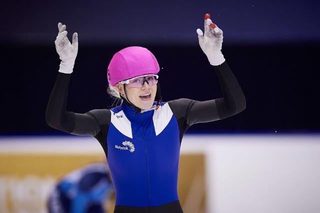 Natalia Maliszewska osiągnęła w mistrzostwach Polski w short tracku wszystko, co było do wygrania