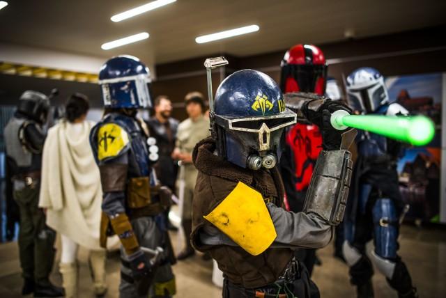 Na koncercie obecni byli bohaterowie Gwiezdnych Wojen.