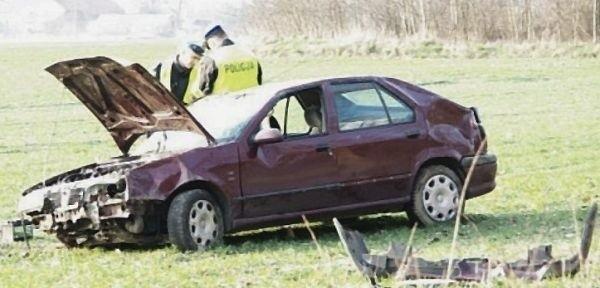 Pijany kierowca renault miał 1,6 promila.