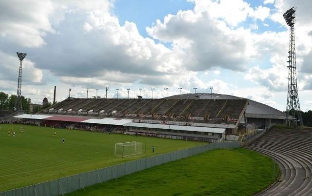 Trybuna stadionu ŁKS zostanie wkrótce zburzona.