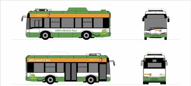 Tak będą wyglądały miechowskie autobusy elektryczne