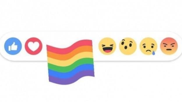 Nowa reakcja na Facebooku. To duma! Przedstawia ją tęczowa ikonka