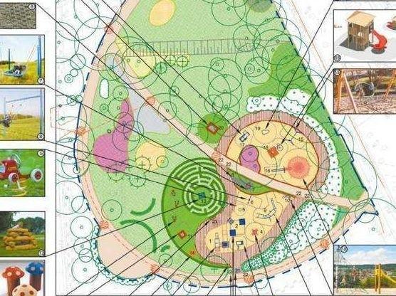 Projekt placu zabaw na Plantach