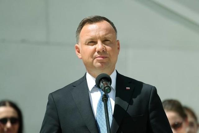 Andrzej Duda dziękuje redemptorystom i Rodzinie Radia Maryja.