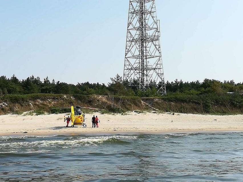 Dwaj mężczyźni zaginęli nad Bałtykiem w Krynicy Morskiej....