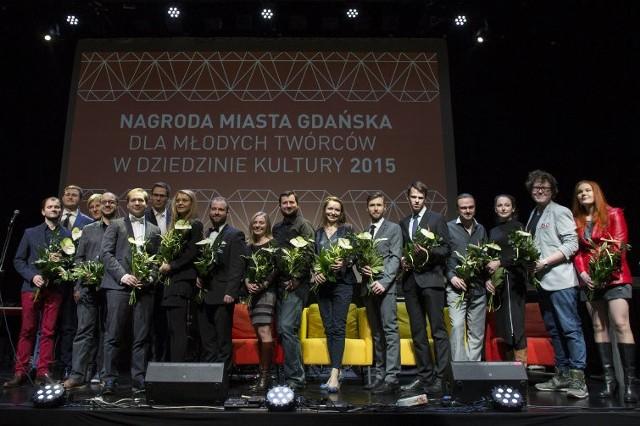 Uroczystość wręczenia Nagrody Miasta Gdańsk dla Młodych Twórców w Dziedzinie Kultury