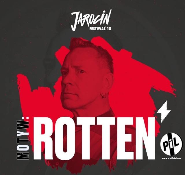 Dwie godziny później scenę przejmie Johnny Rotten – jeden z ojców muzyki punk, wokalista legendarnego Sex Pistols i tegoroczny ambasador festiwalu. Finałowy koncert ze swoim zespołem Public Image Ltd zagra o godz. 23.