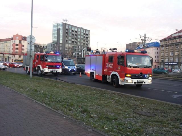 Wrocław, wypadek przy placu Jana Pawła II
