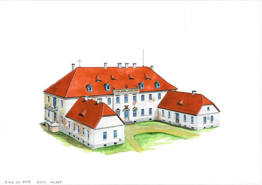 Pałac w Bieczu czeka jeszcze daleka droga, aby nazwać go...