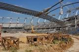 Na Stadionie Śląskim rusza operacja opuszczania konstrukcji linowej [ZDJĘCIA]