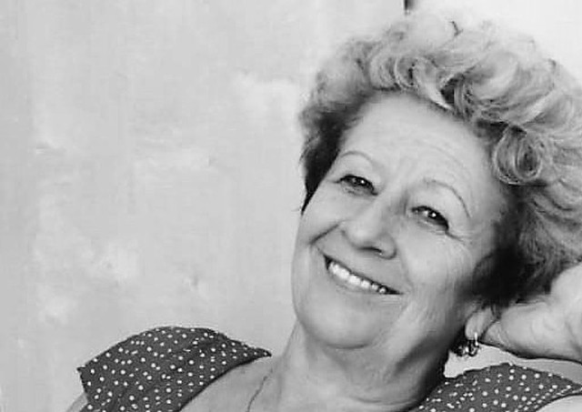 Alicja Barbara Klimowicz, emerytowana pielęgniarka ze Szpitala Powiatowego w Mońkach.