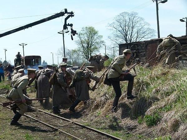 W Rogowie kręcili film o Operacji Łódzkiej 1914 r.