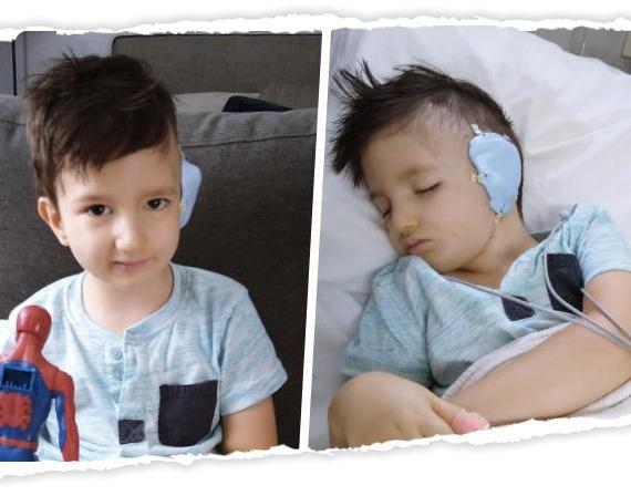 Sebuś musi przylecieć do USA JAK NAJSZYBCIEJ! 26 lutego chłopczyk w trybie pilnym trafi na stół operacyjny!