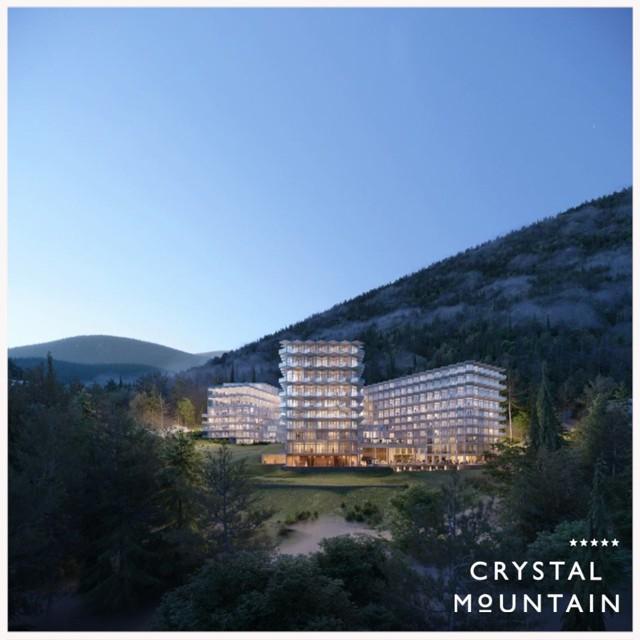 Hotel Crystal Mountain w Wiśle jest położony nad miastem, na zboczu góry Bukowa.Zobacz kolejne zdjęcia. Przesuwaj zdjęcia w prawo - naciśnij strzałkę lub przycisk NASTĘPNE