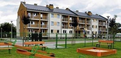 Bloki komunalne przy ul. Działkowej, oddane w tym roku FOT. ANDRZEJ WIŚNIEWSKI