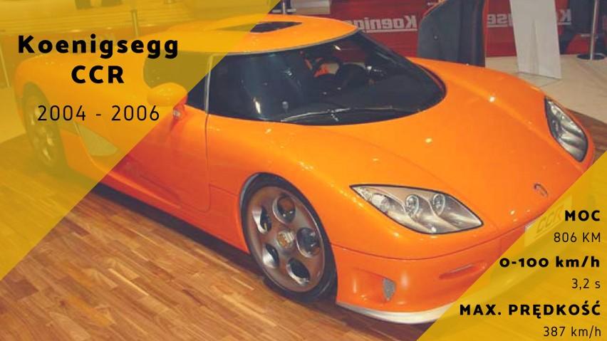 Szwedzki Koenigsegg CCR ma już swoje lata, ale rozwijając...