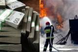 Pożar samochodu firmy ochroniarskiej. W aucie mógł być milion złotych [30.03.2019]