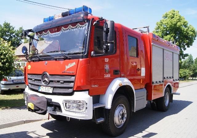 Strażacy z OSP Zabór będą mieli nowy wóz strażacki