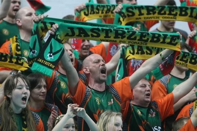 Kibice Jastrzębskiego Węgla świętowali brązowy medal swojego klubu
