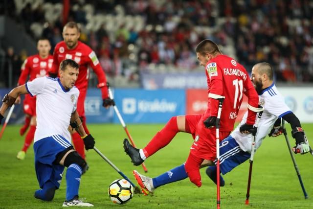 19.09.2021, Kraków: fragment meczu o trzecie miejsce w ME Polska - Rosja (1:0)