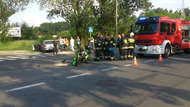 Informację o wypadku policja otrzymała o godz. 17.27.