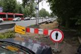 Katowice. Droga rowerowa ma zastąpić miejsca postojowe na ul. Kościuszki. Kierowcy narzekają, że nie będą mieli gdzie parkować
