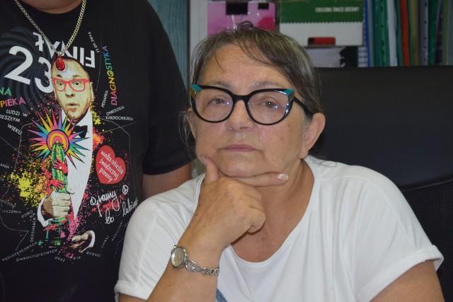 Bogusława Fediuk-Pelińska z Lubuskiego Oddziału Okręgowego PCK