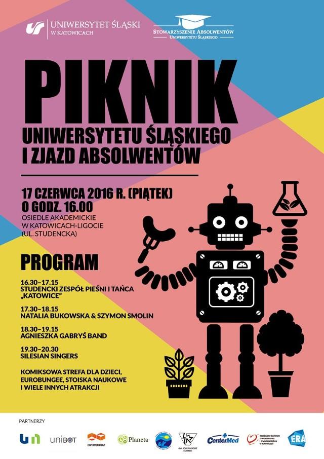 Wielki piknik Uniwersytetu Śląskiego i zjazd absolwentów
