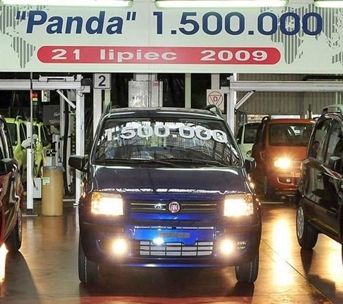 Półtoramilionowy Fiat Panda