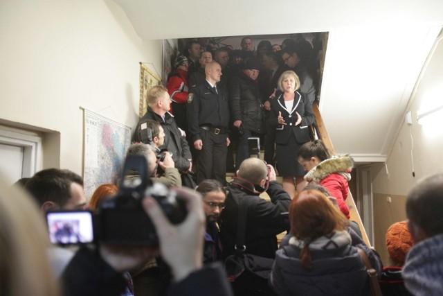 Spotkanie z mieszkańcami Wirku w sprawie Marusza Trynkiewicza