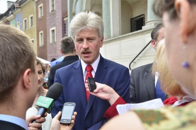 Ryszard Grobelny ogłasza start w wyborach