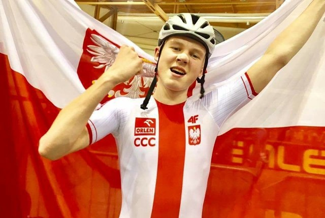 Filip Prokopyszyn, kolarz Trasy Zielona Góra