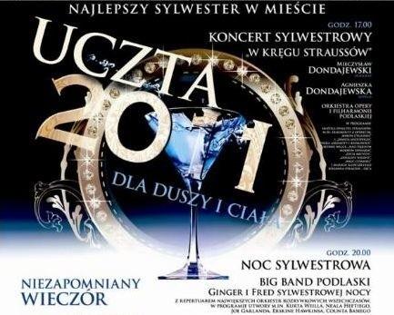 Sylwester 2011/2012 w Operze i Filharmonii Podlaskiej