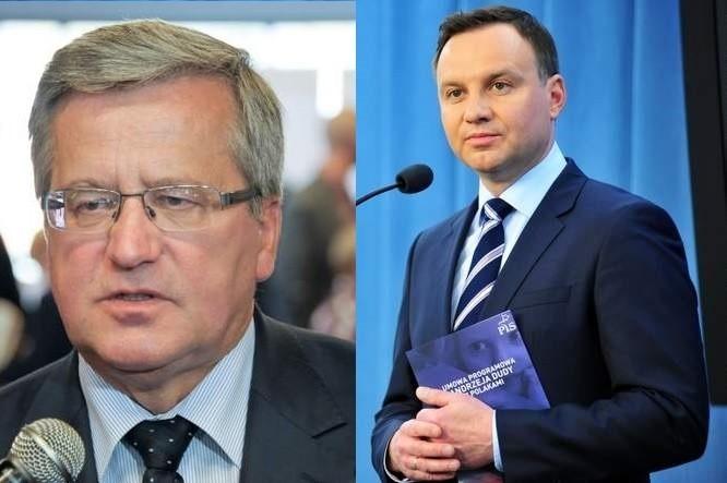 Największy w Polsce sondaż prezydencki. Duda wygrywa w Polsce z Komorowskim o włos, 51 do 49 procent. W Podlaskiem Duda górą (wideo)