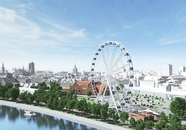 Koło widokowe w Gdańsku miałoby stanąć w 2018 roku