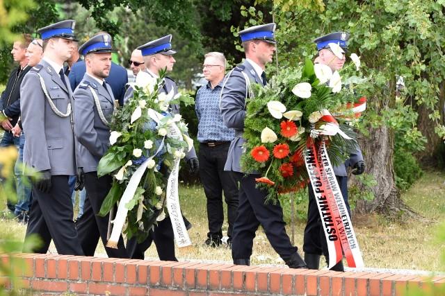 Pogrzeb komendanta Krzysztofa Skowrona odbył się w Knurowie