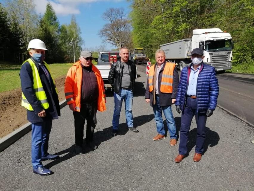 Remont drogi w Mikorowie jest już na ukończeniu.