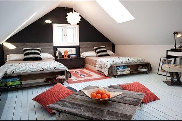 Nowoczesna sypialnia...