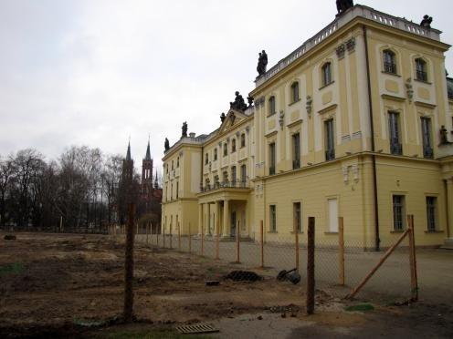 Pałac Branickich znów w remoncie