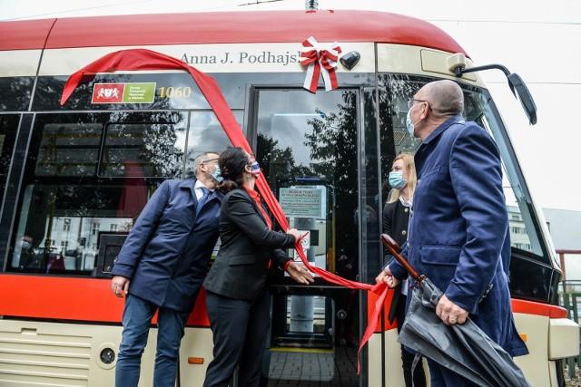 Pierwsza dama polskiej biotechnologii prof.Anna Jadwiga Podhajska ma swój tramwaj