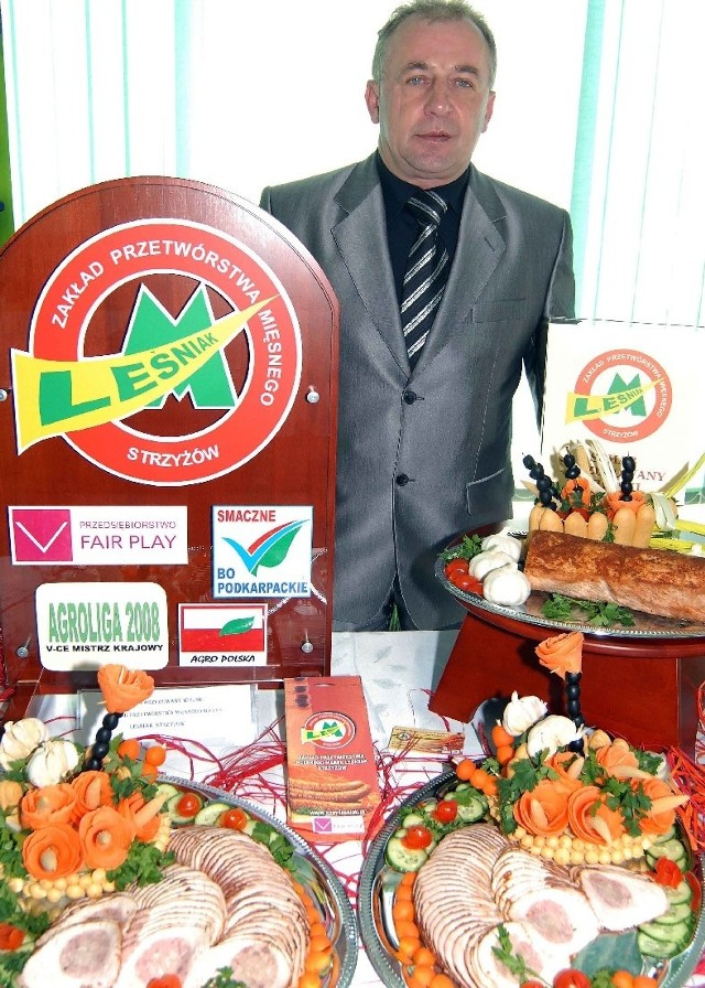 Wędliny z Zakładu Przetwórstwa Mięsnego - Marek Leśniak zdobyły prestiżowy tytuł Wicemistrza Krajowego AgroLigi 2008