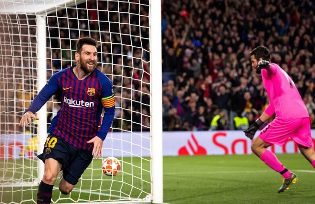 Leo Messi strzelił dwa gole w pierwszym meczu.